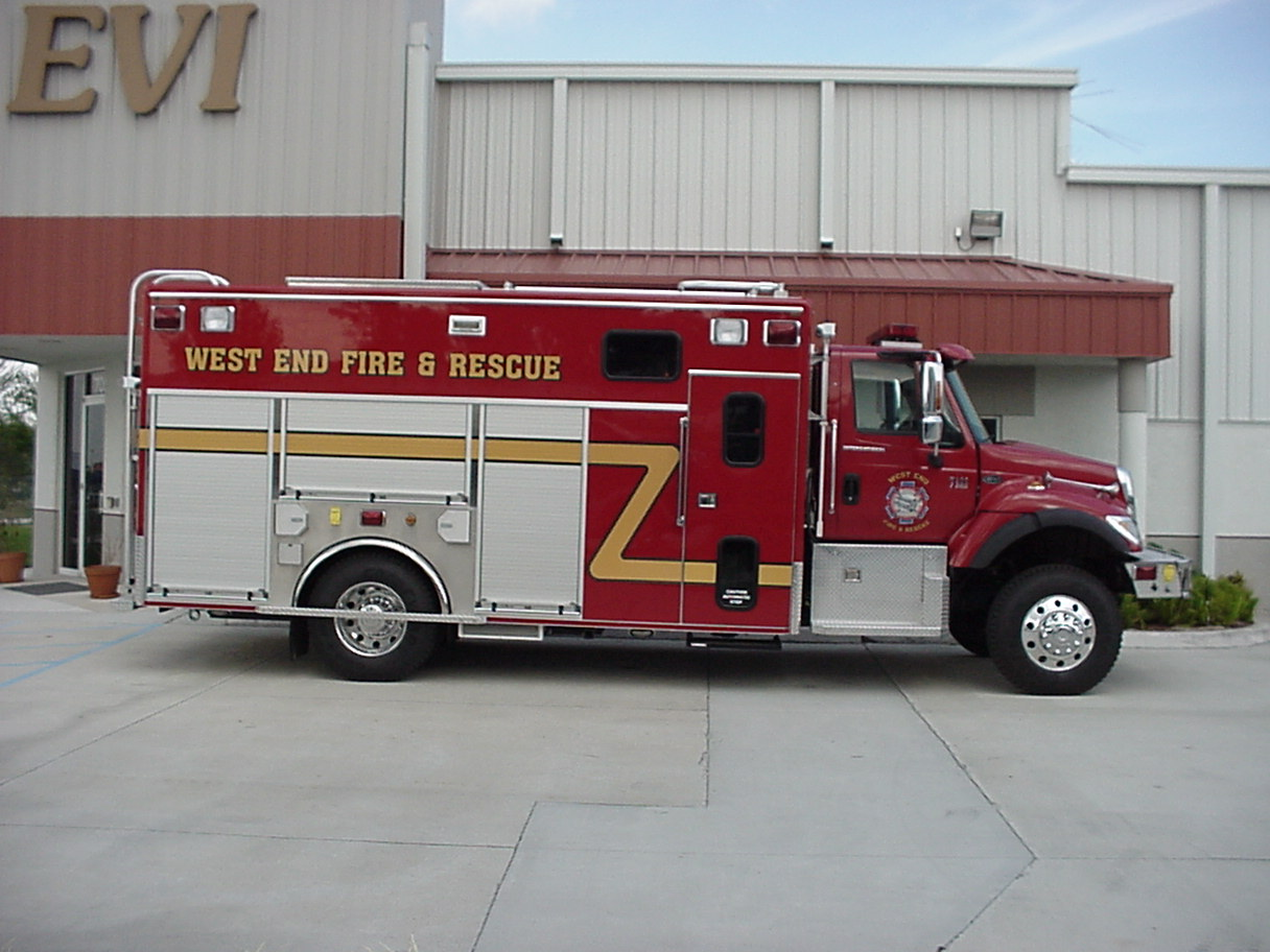 17-Ft. Crew Body Rescue Truck
