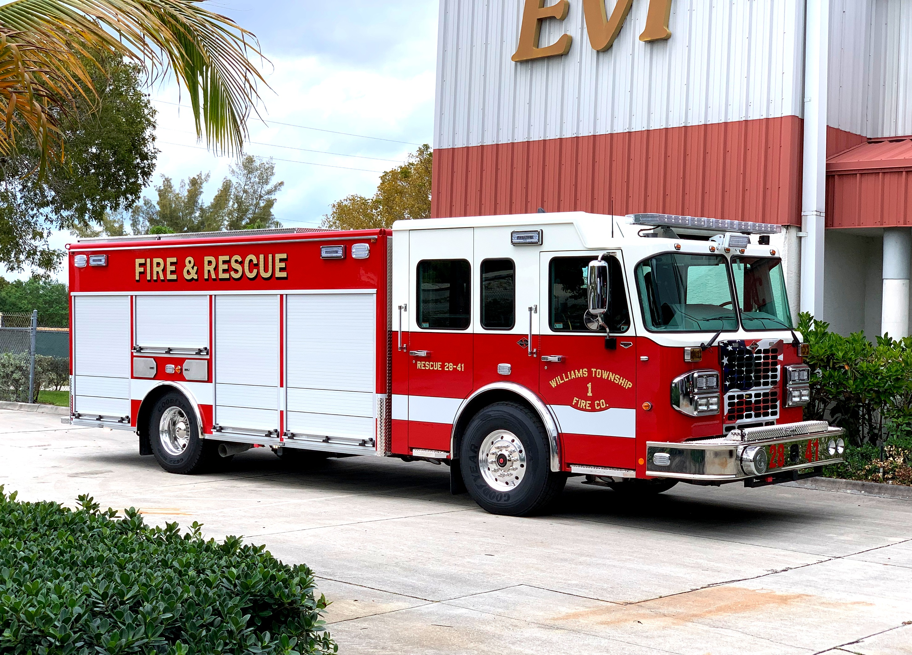 evi rescue custom 18 ft nwi