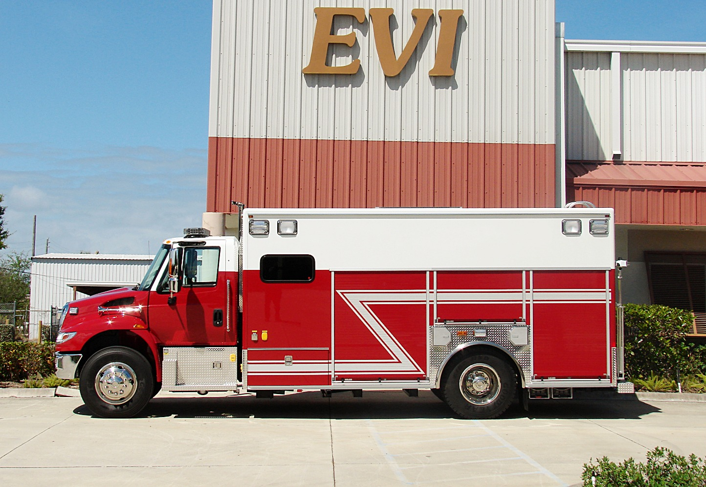 EVI Crew Body Air Light Rescue Truck