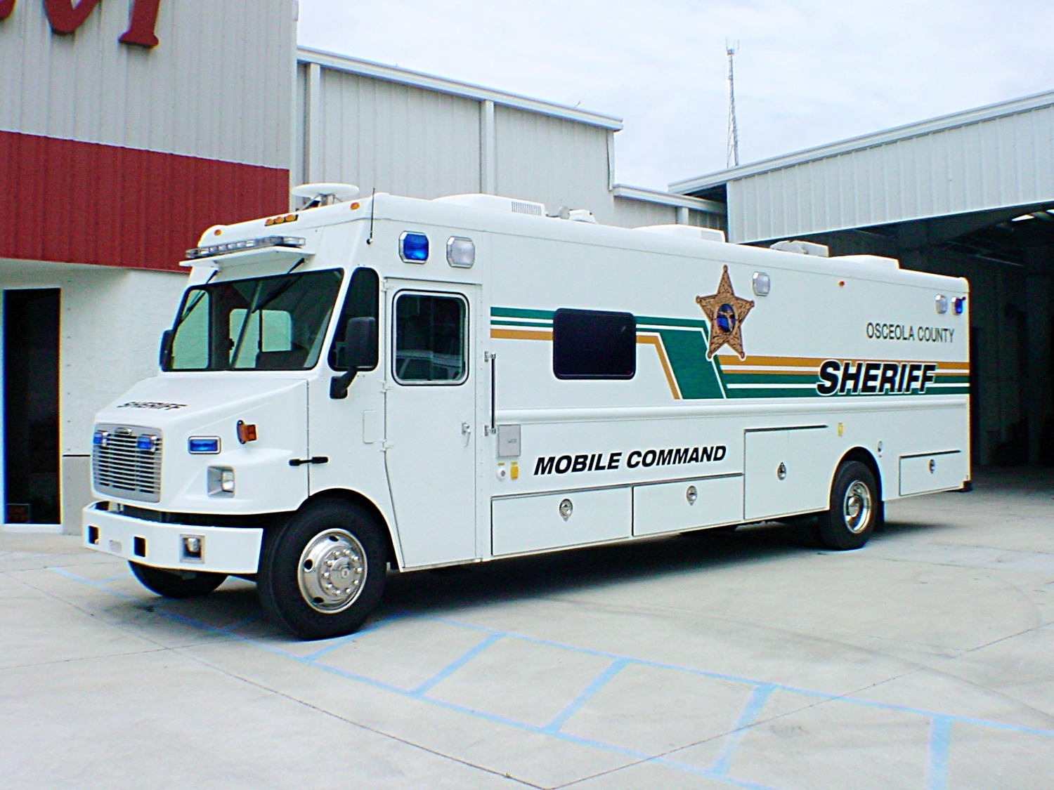 Step Van Command Unit