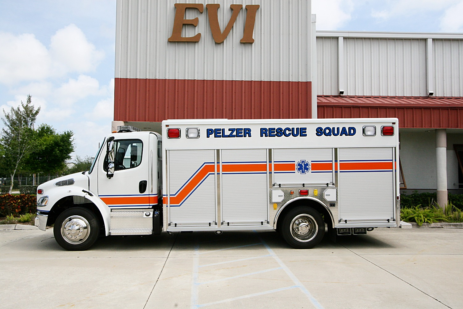 EVI Non-Walk-In Rescue Truck