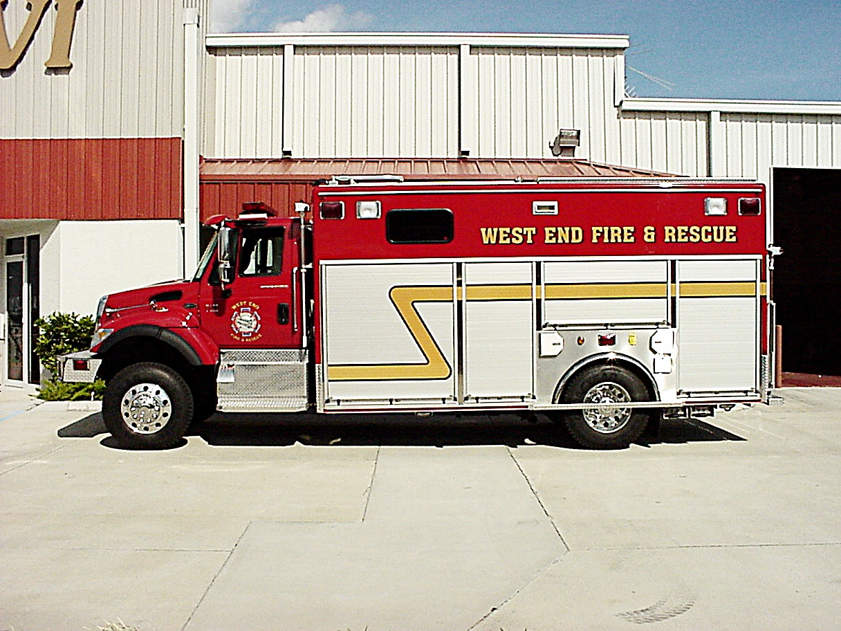 EVI Crew Body Rescue Truck