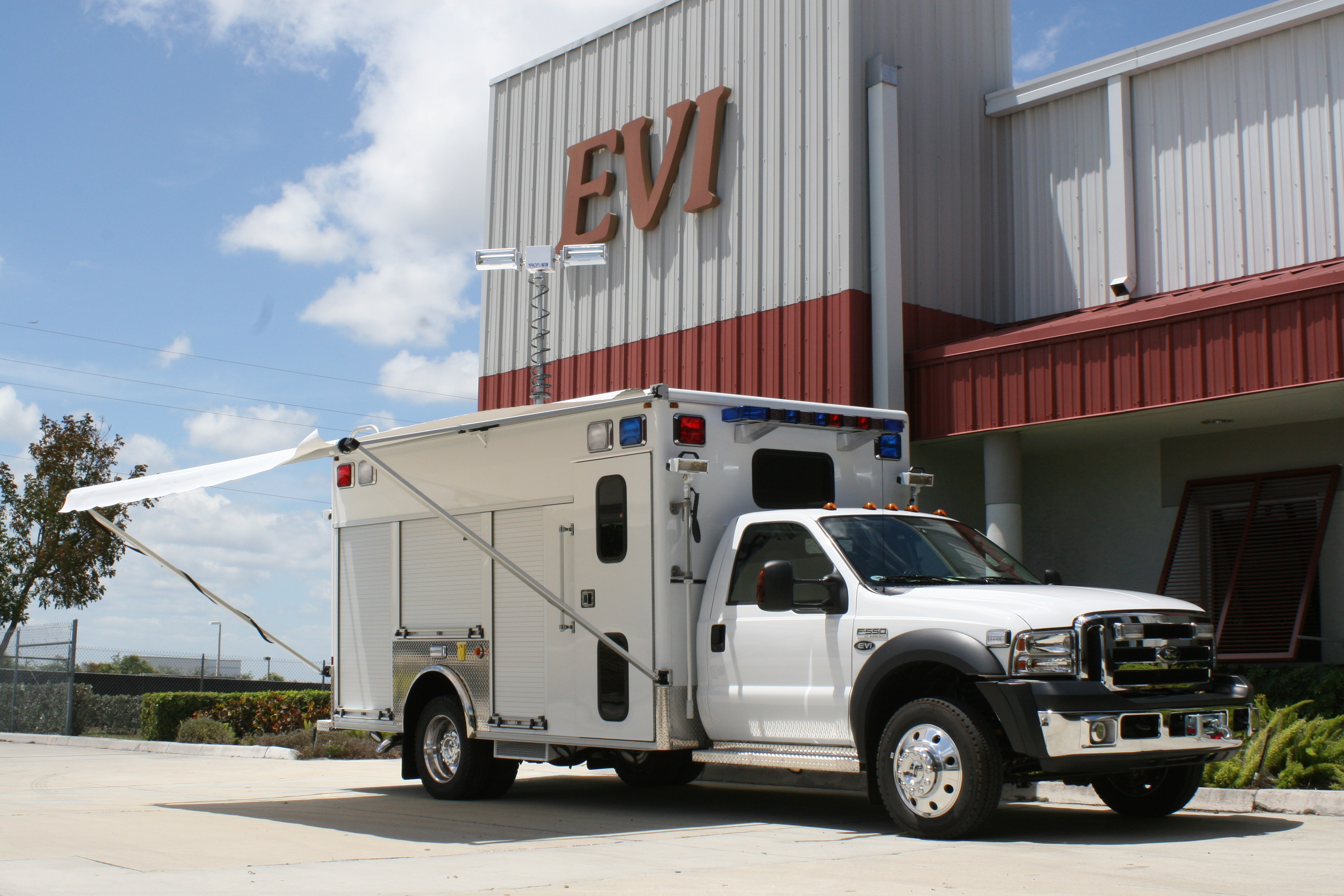 EVI 14-Ft Crew Body Haz-Mat Vehicle