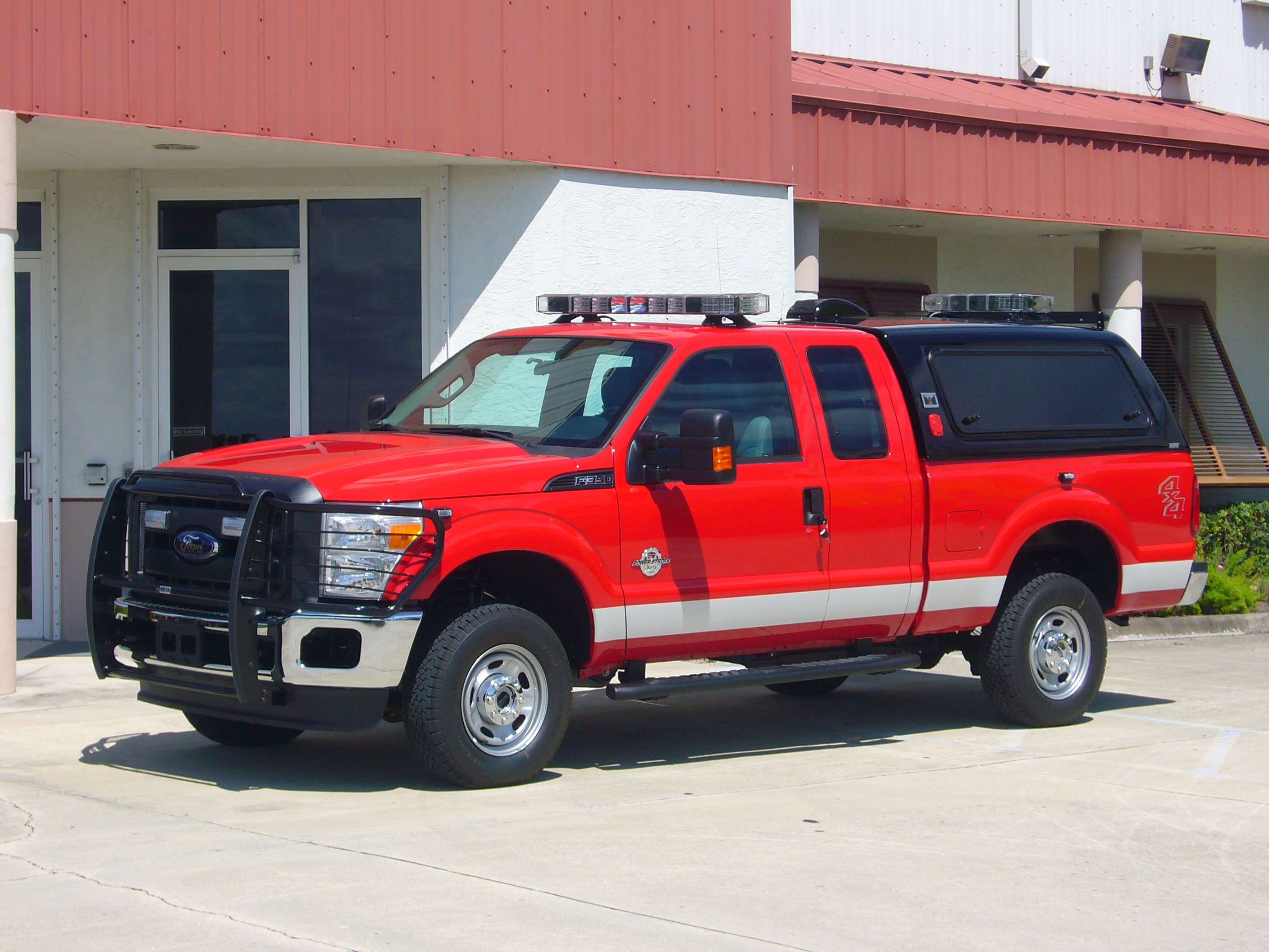 EVI Battalion Chiefs Command Truck