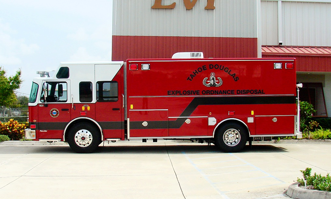 EVI 18-Ft. Walk-In Custom EOD Unit