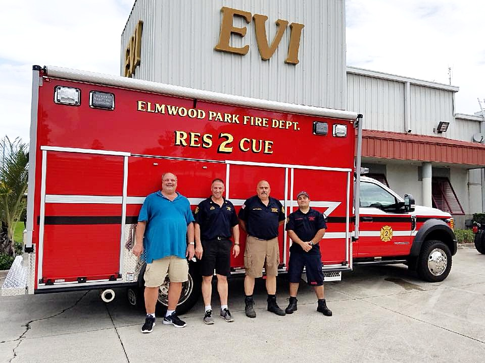 EVI 16 ft. walk-in water rescue unit