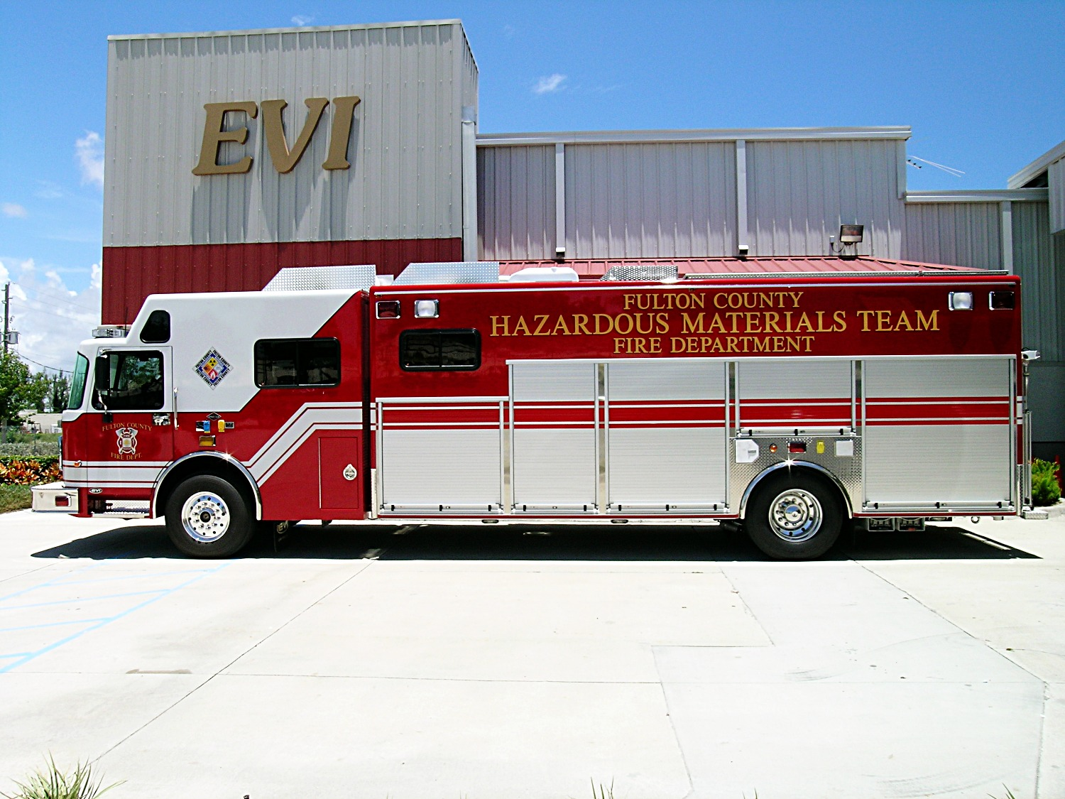 EVI Haz-Mat Response Vehicle