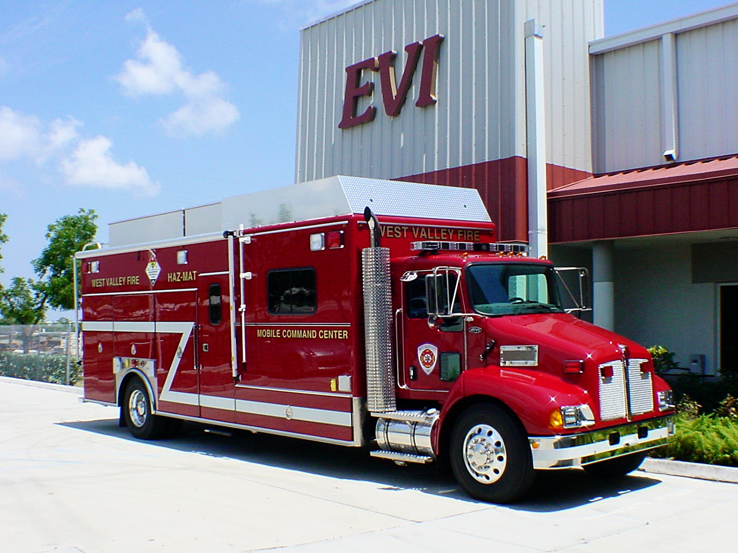 EVI 25-Ft Haz-Mat / Command Response