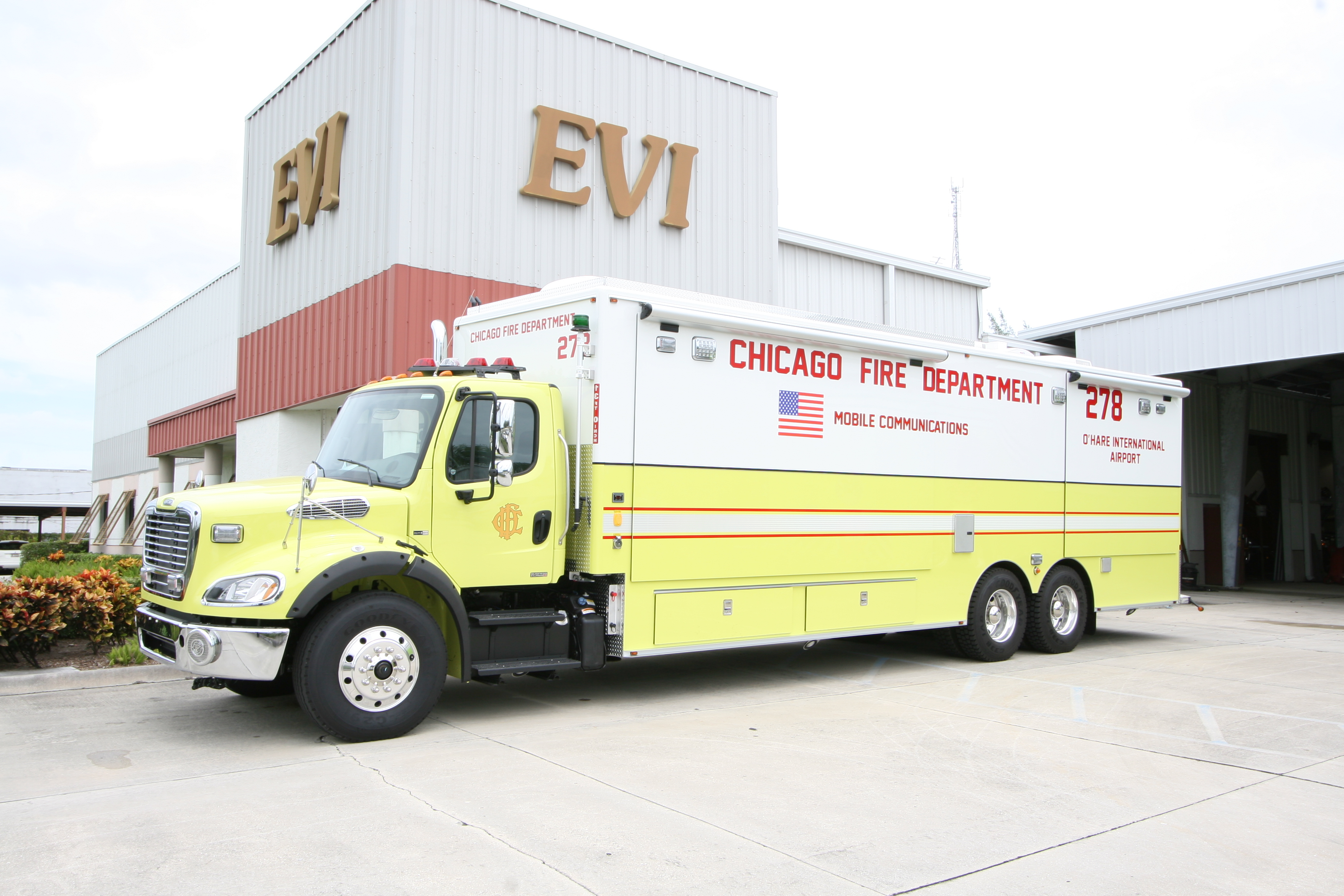 EVI Mobile Command Post Fire Departm