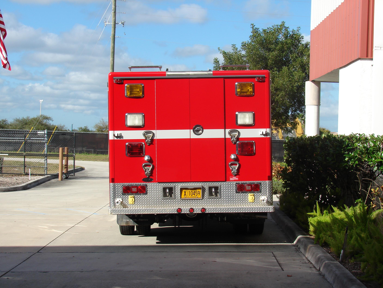 10-Ft. Non-Walk-In Rescue Truck