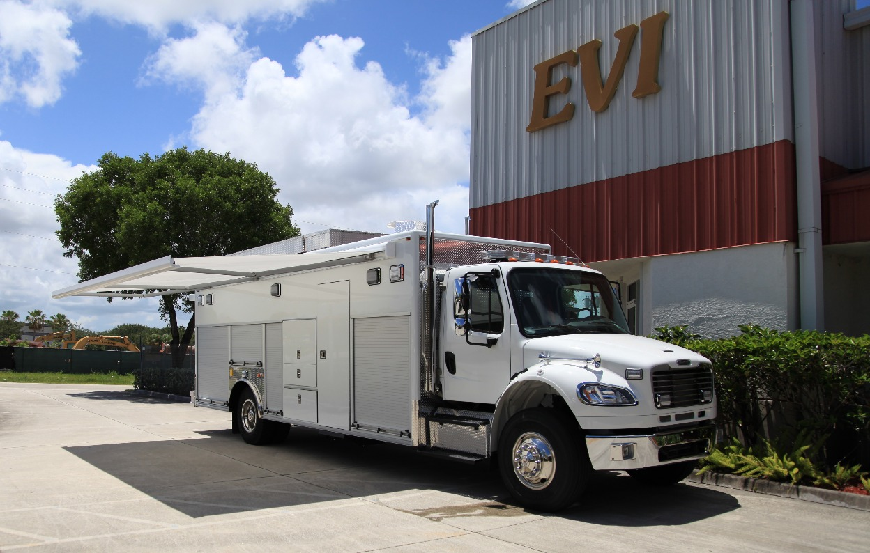 EVI Walk-In Tactical SWAT Vehicle