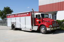 evi hazmat response truck