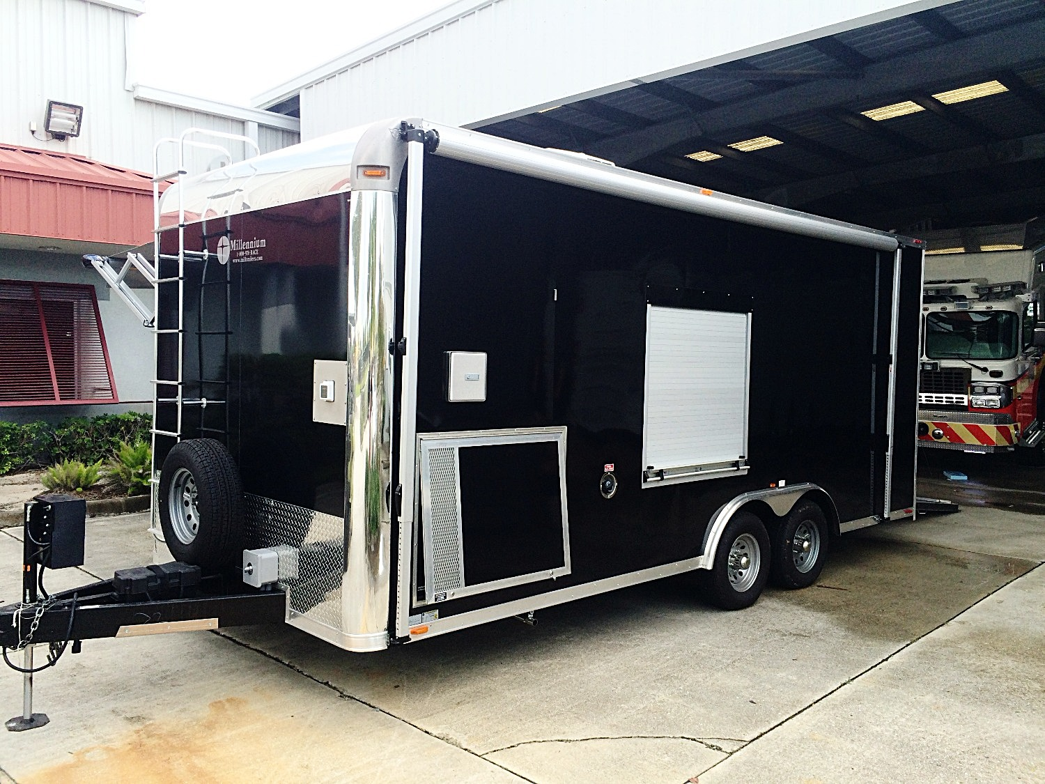 EVI Bomb | EOD Enclosed Trailer