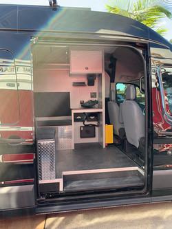 SWAT Van Conversion