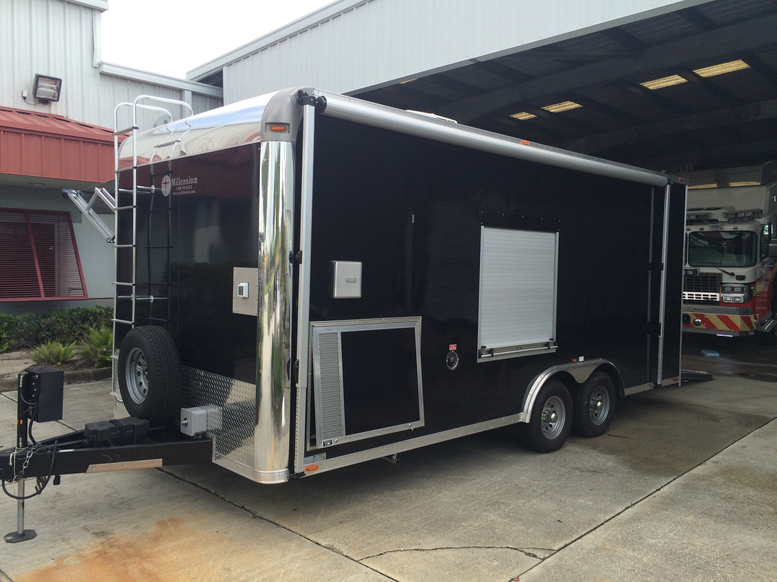 Enclosed Trailer Conversion