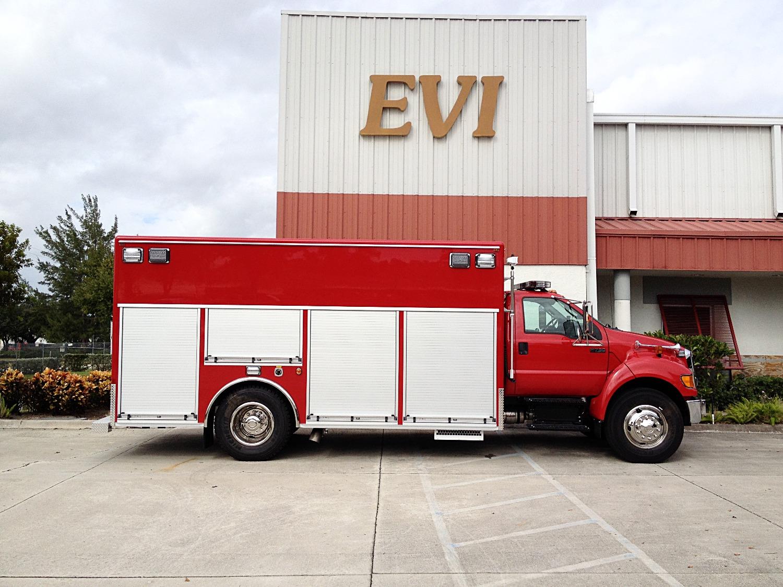 EVI Dive / Water Rescue Truck
