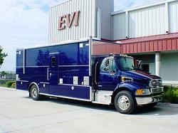 EVI custom tactical command truck