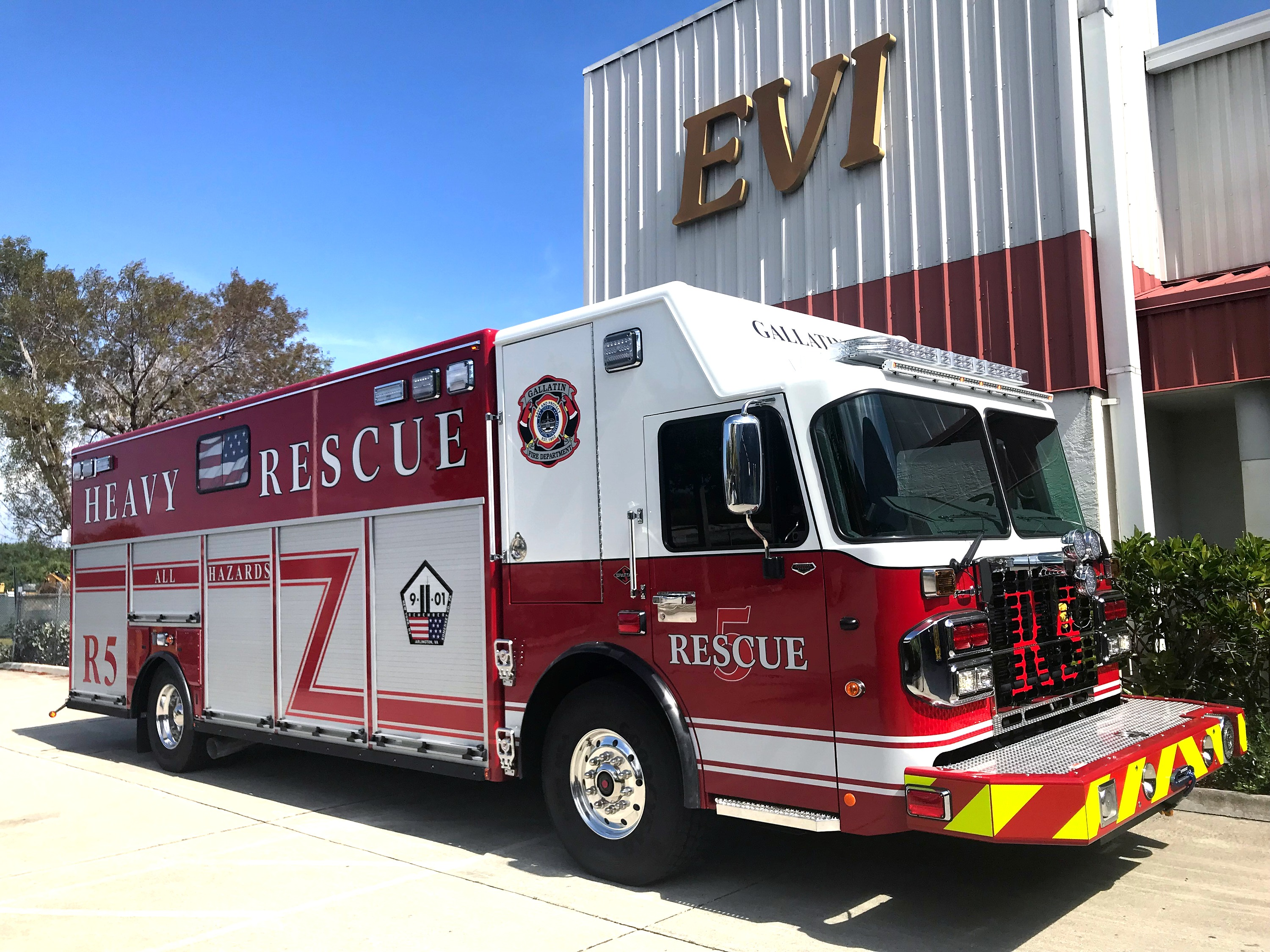evi 24 ft walk in heavy fire rescue
