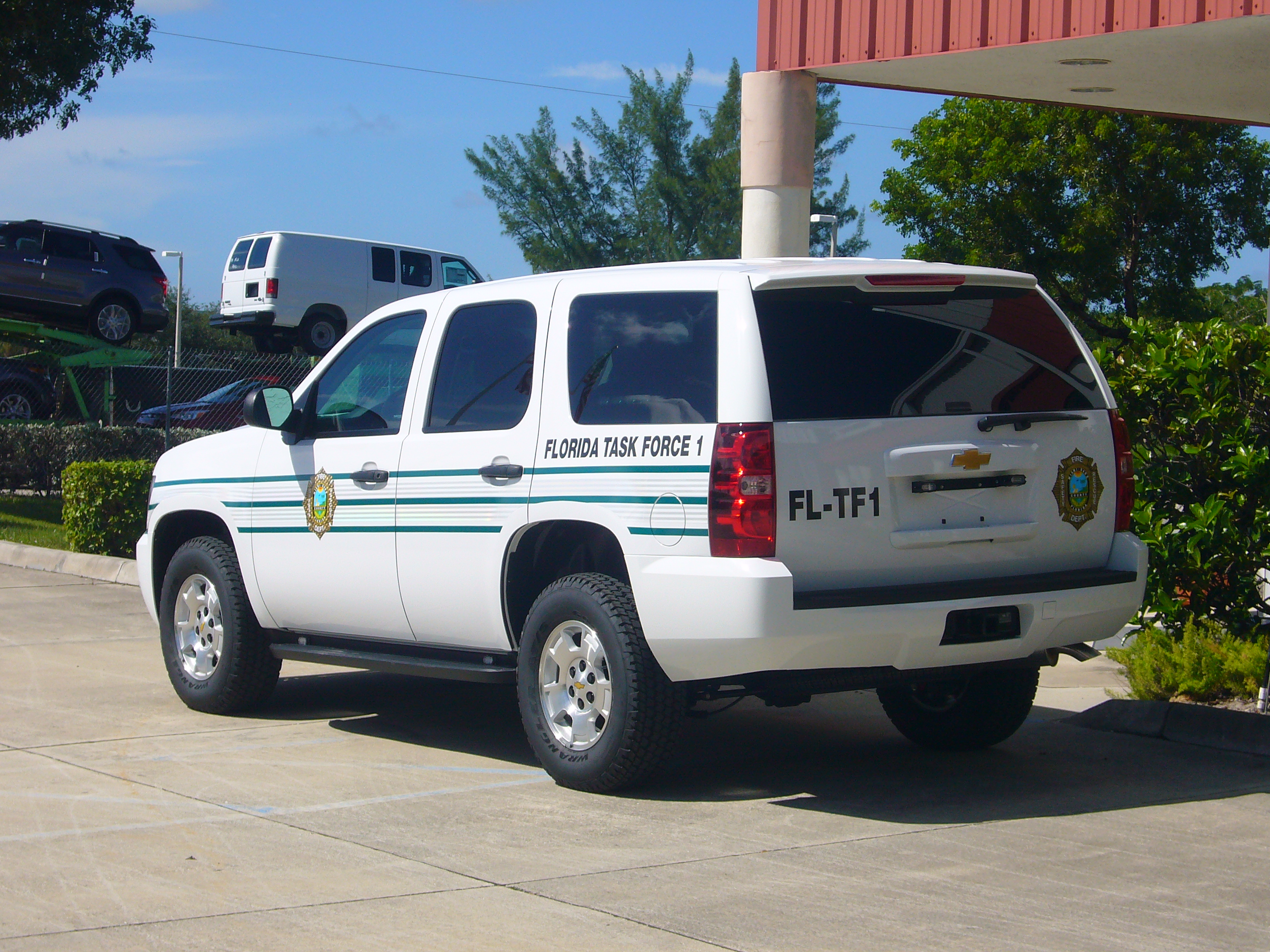 USAR Command Vehicle