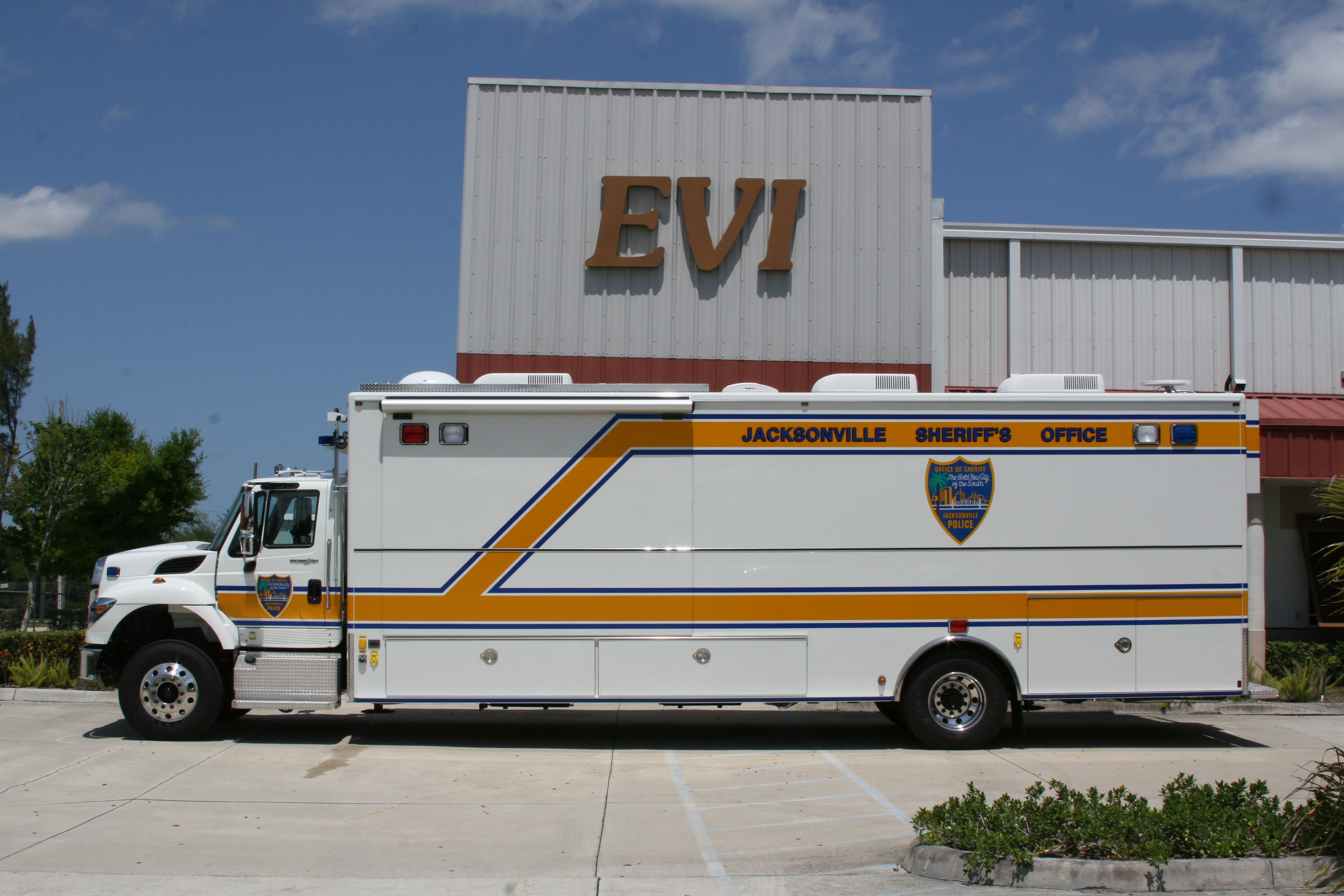 30-Ft. Mobile Command Vehicle