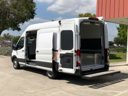 EVI SWAT tactical Van Conversion