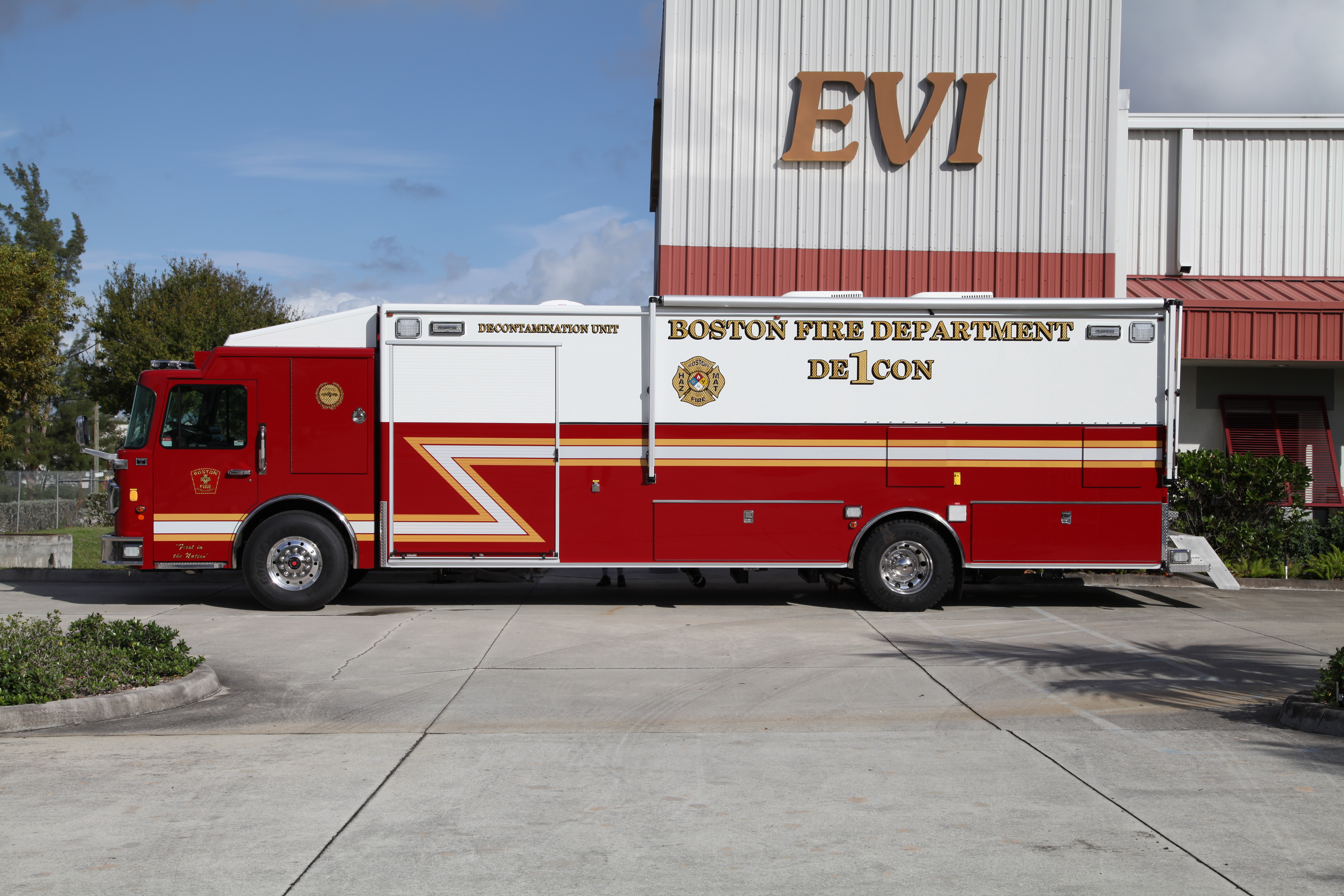 30-Ft Mobile Decontamination Vehicle