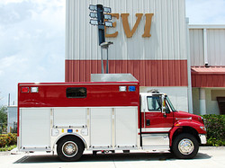 EVI Walk-In Rescue Truck
