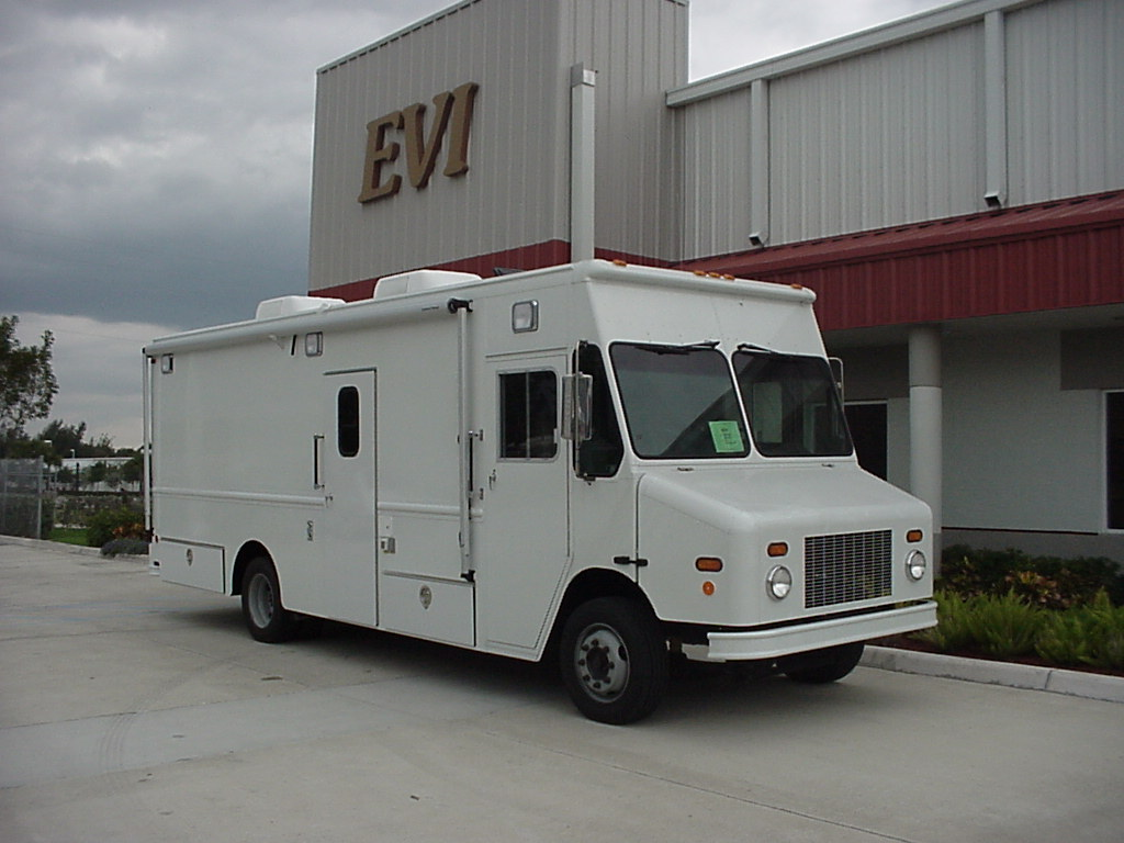 EVI custom Mobile Command Stepvan