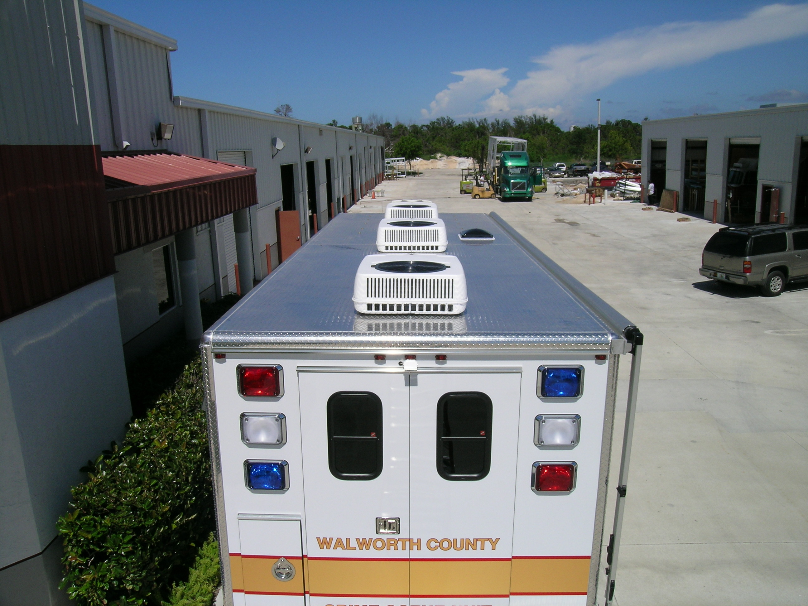 24-Ft. Crime Scene Response Vehicle