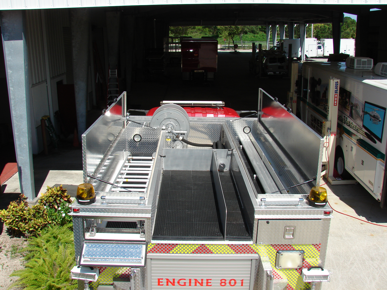 14-Ft. Rescue Pumper