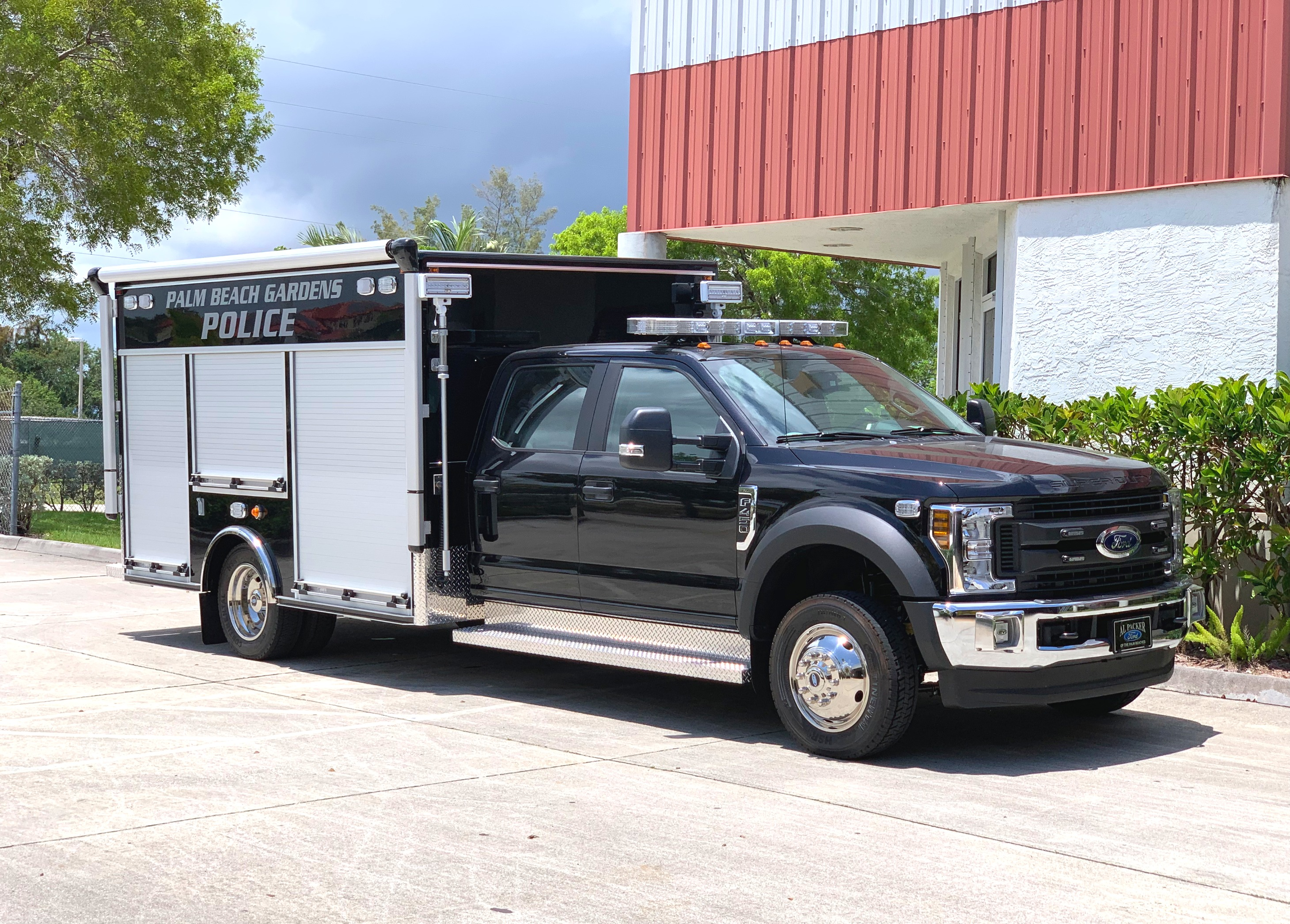 evi 12 ft police swat support unit