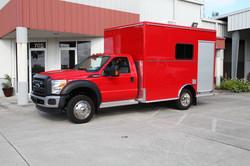 evi 12 ft custom rescue truck
