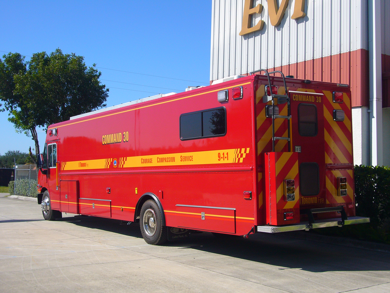 Step Van Conversions - Fire Rescue | EVI