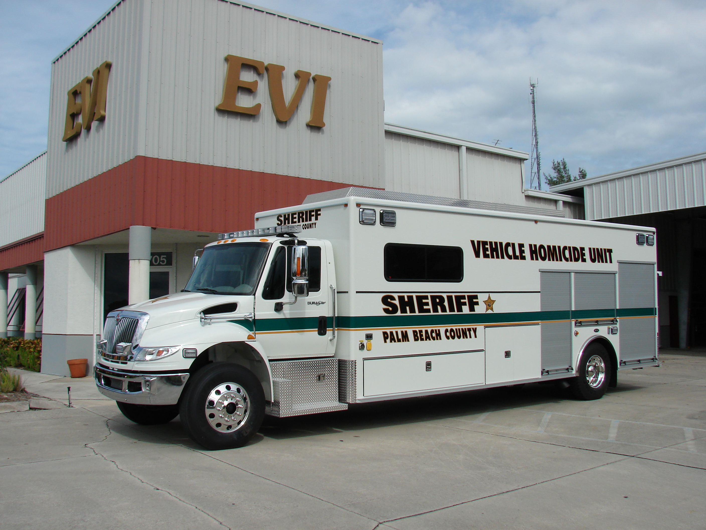 EVI Homicide Investigation Vehicle
