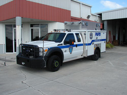 EVI Light Duty Police Rescue Truck