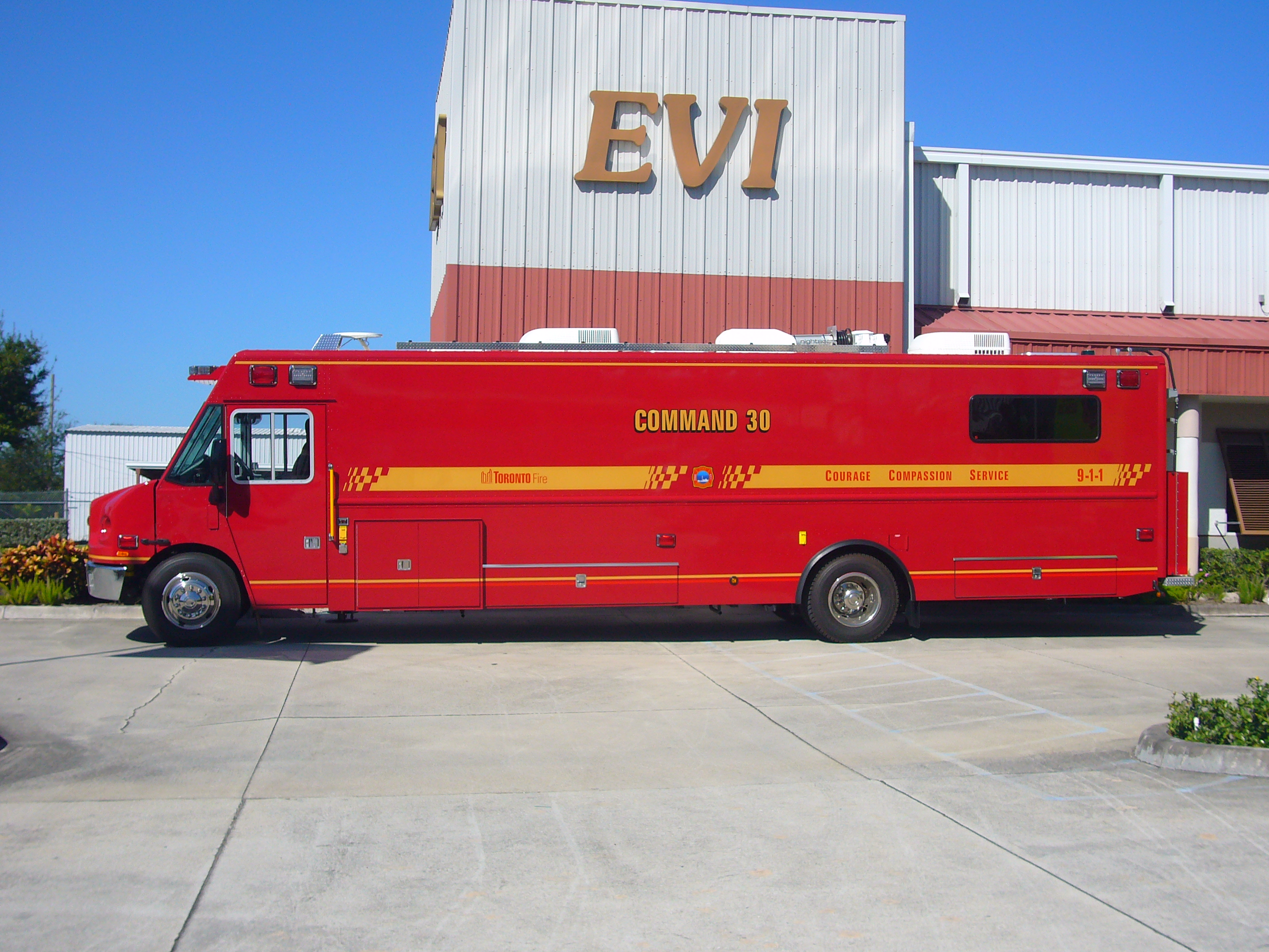 30-Ft. Step Van Command Vehicle