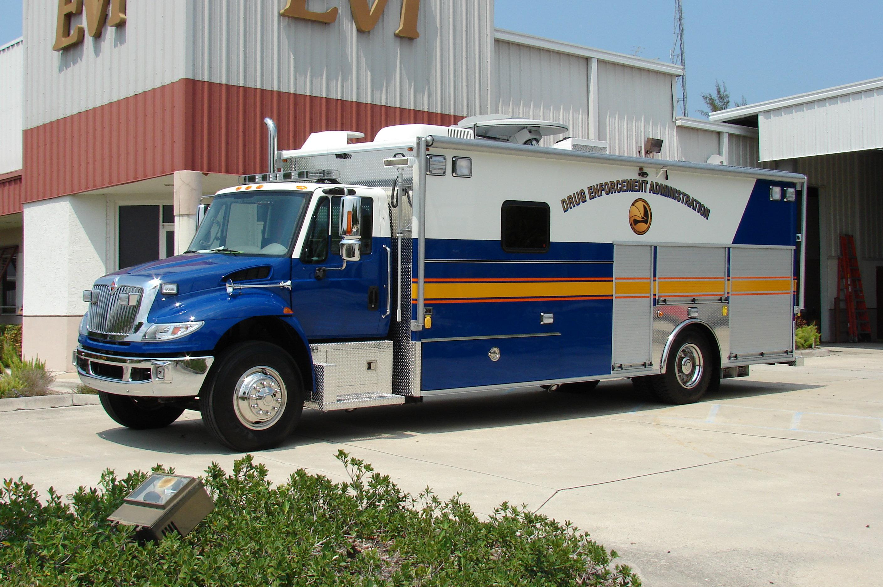EVI custom crime scene lab vehicle