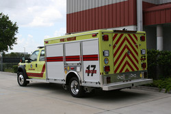 12-Ft Non-Walk-In Light Rescue Truck