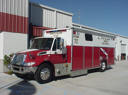 21-Ft Walk-In First Responder Rescue
