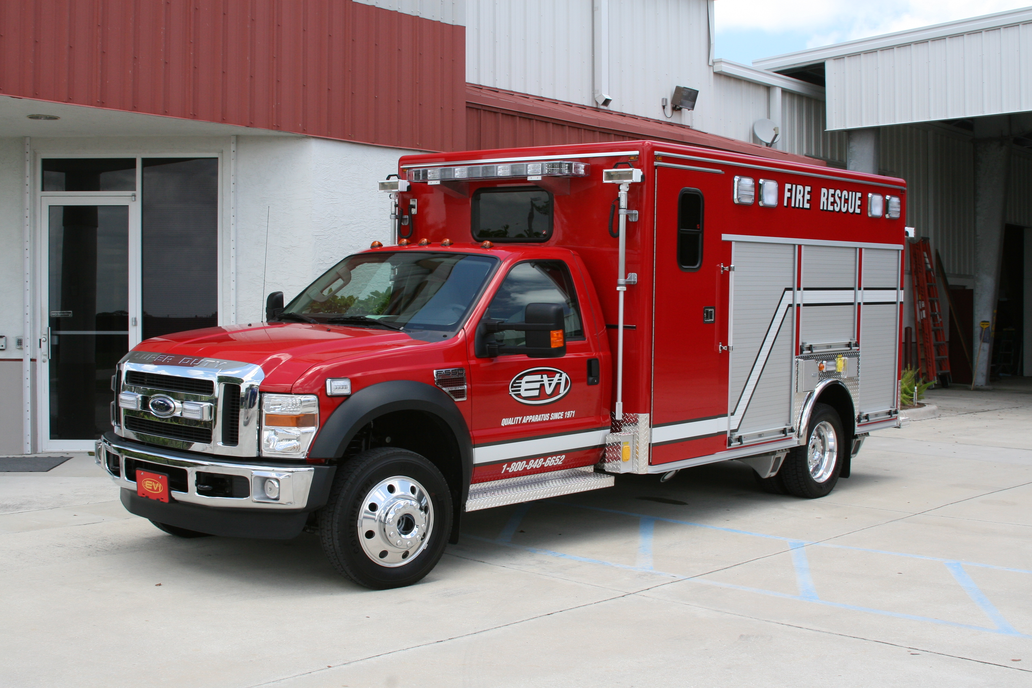 EVI 14-Ft. Crew Body Rescue Truck