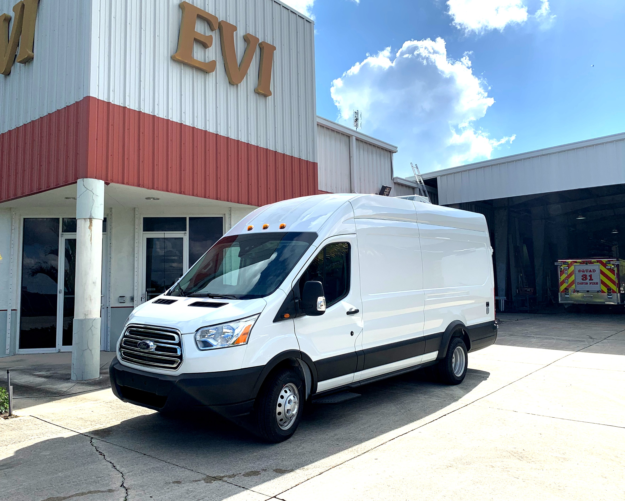 evi custom swat van transport