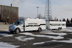 EVI custom SWAT Tactical Vehicle
