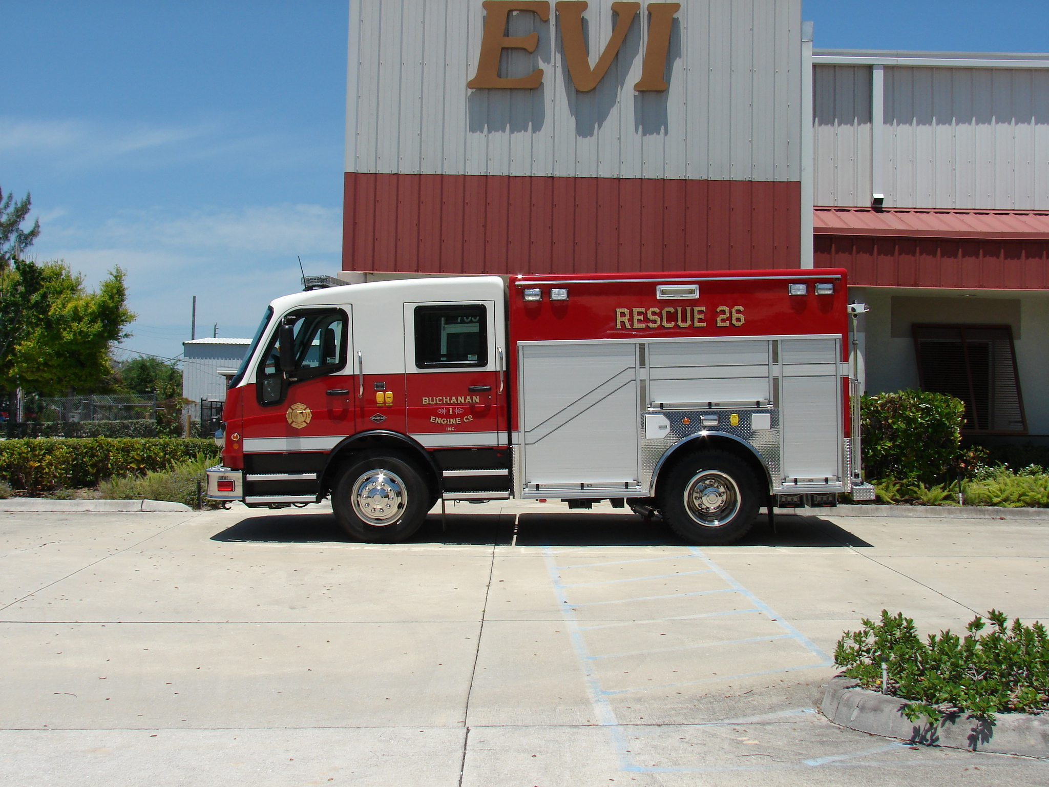 EVI 12-Ft. Non-Walk-In Rescue Truck