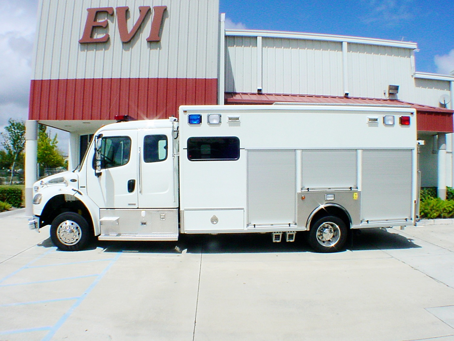 EVI custom Crew Body Hazmat Rescue