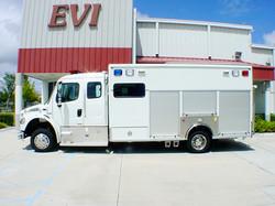 EVI custom Crew Body Hazmat Rescue