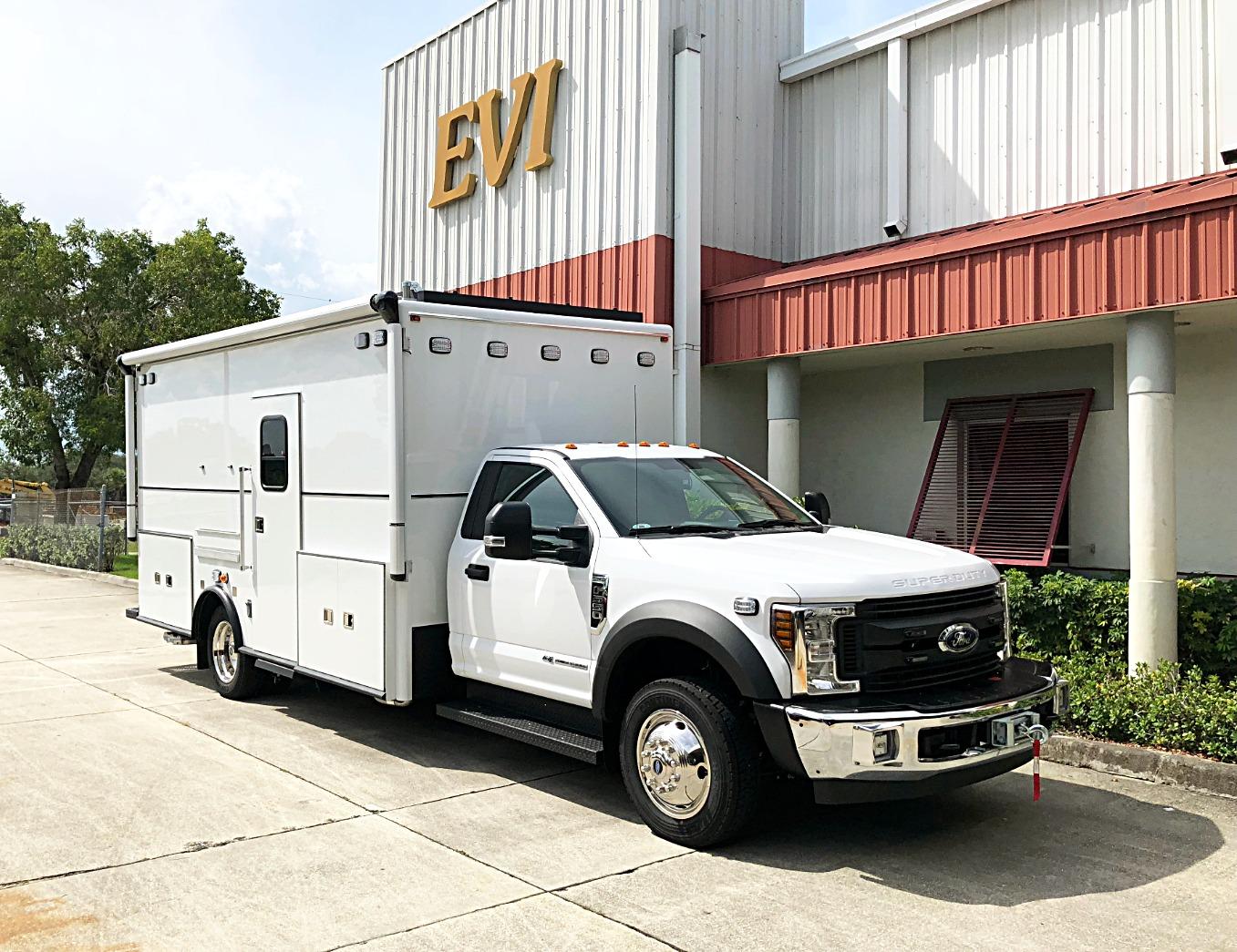 EVI walk-in 16ft swat unit