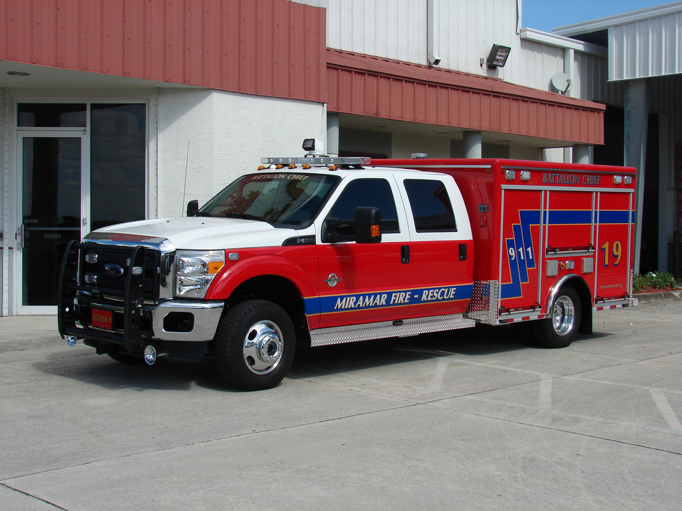 EVI 10-Ft Non-Walk-In Rescue Truck