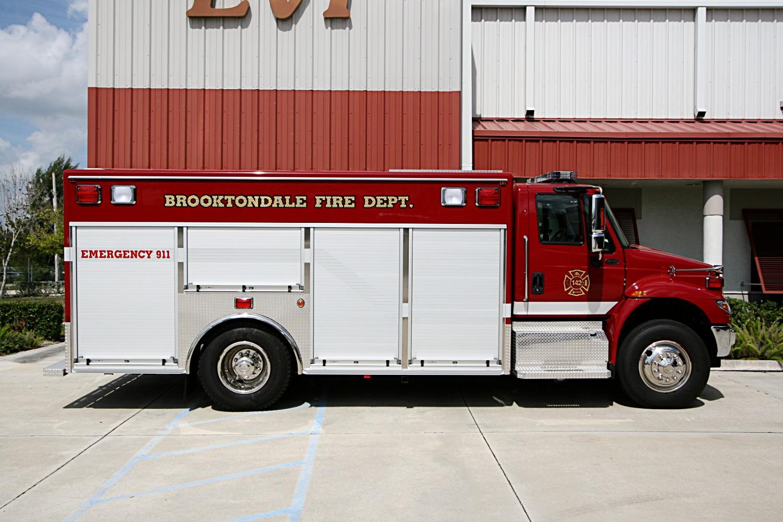 EVI Rescue Squad Apparatus