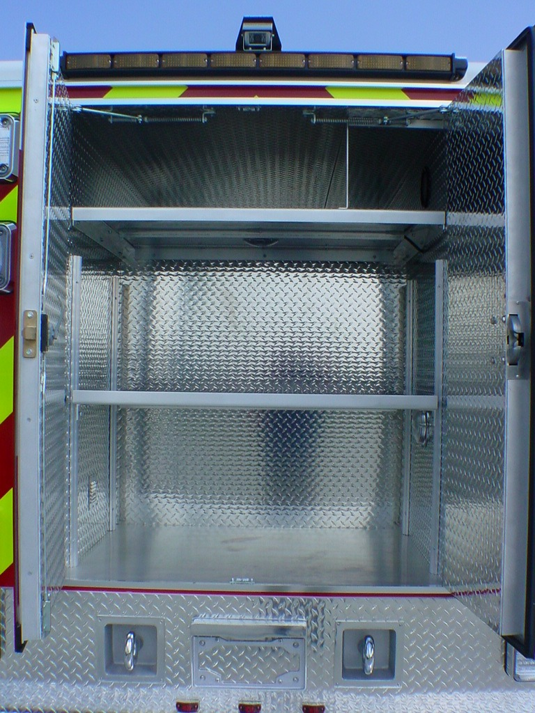 10-Ft. Non-Walk-In EMS/Rescue Fire
