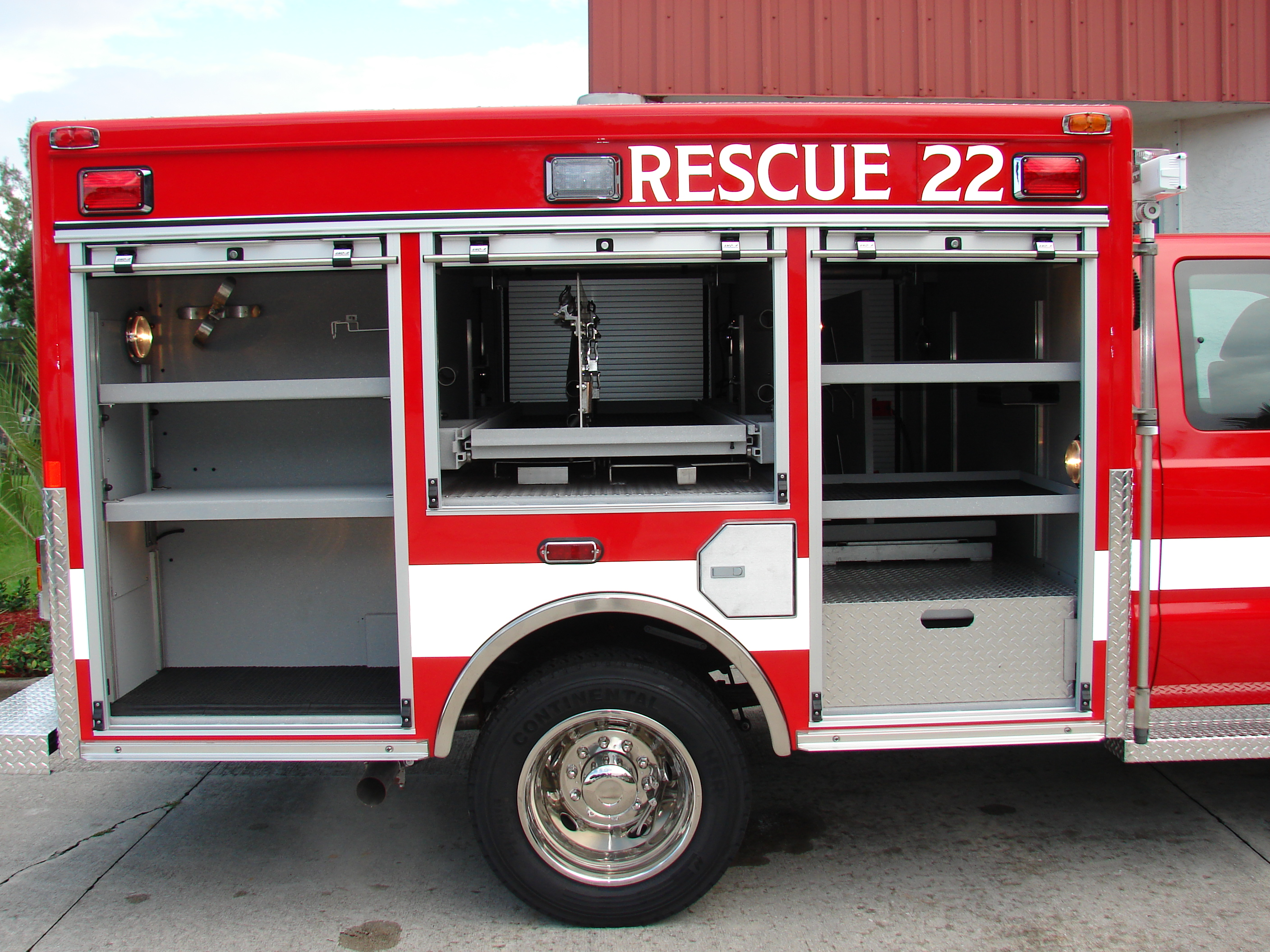 10-Ft. Non-Walk-In Rescue
